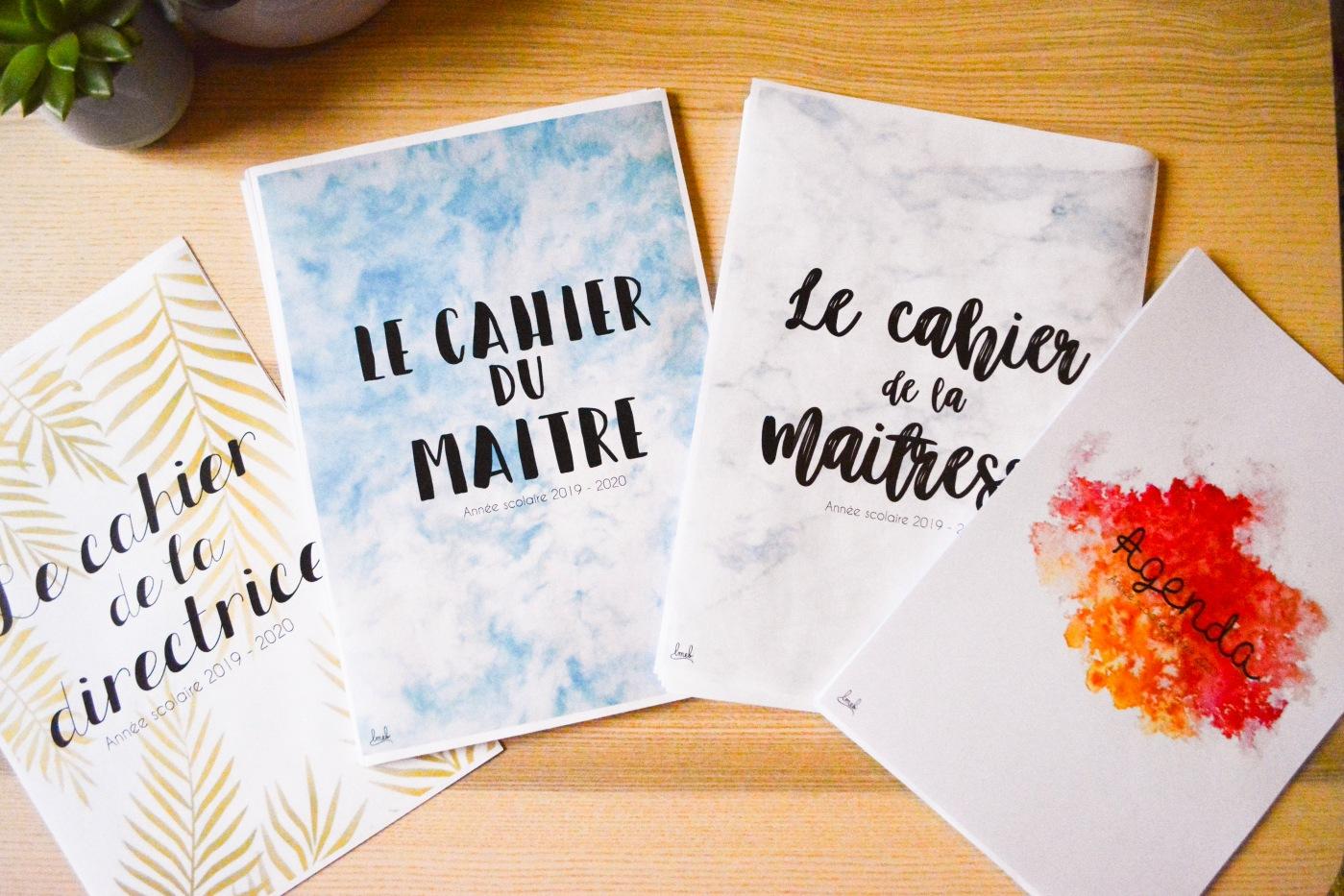 Calendrier Scolaire 20202019 A Imprimer.Le Cahier De La Maitresse 2019 2020 Et Ses Surprises Les